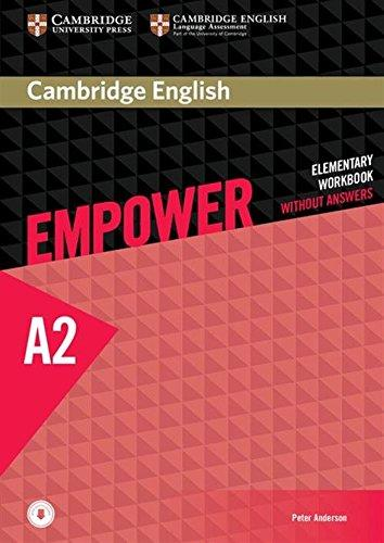 Empower A2 Elementary Workbook Cover