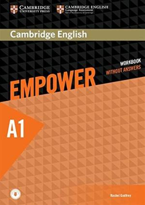 Empower A1 Elementary Workbook Cover
