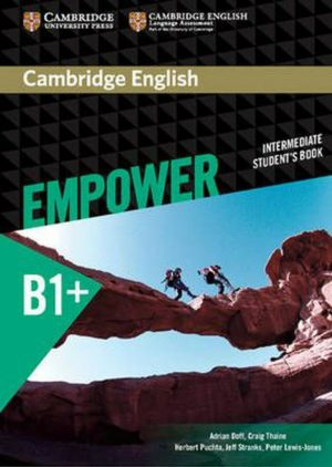 Empower B1+ Intermediate Student's Book Cover