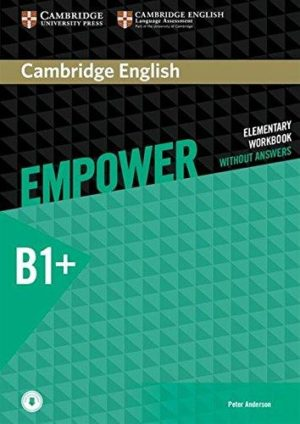 Empower B1+ Intermediate Workbook Cover