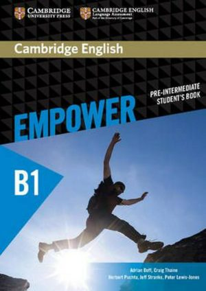 Empower B1 Pre-Intermediate Student's Book Cover