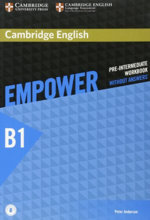 Empower Pre-Intermediate Workbook Cover