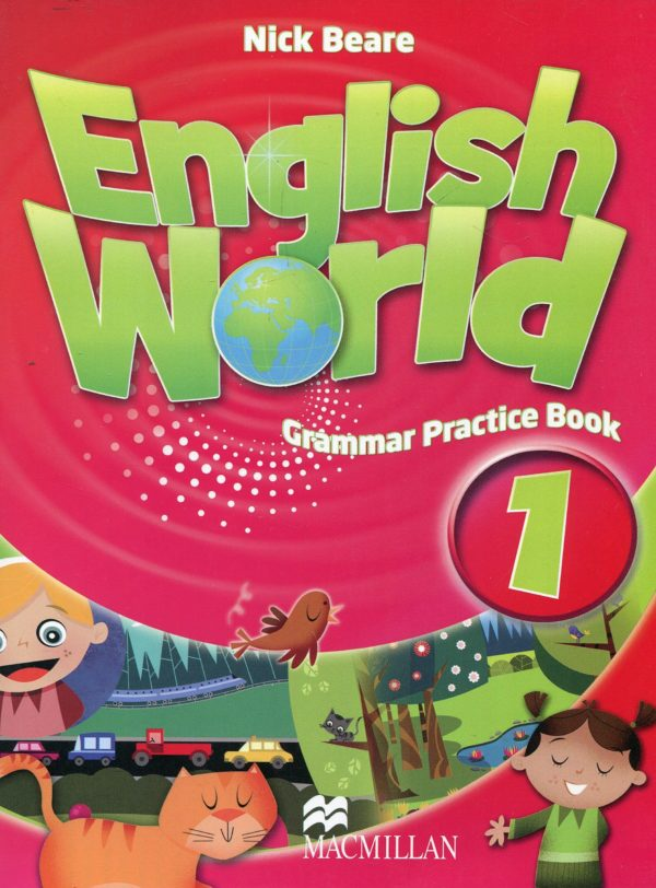 English World 1 Grammar Practice Book Cover