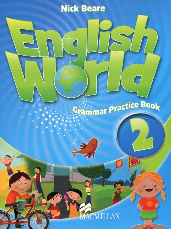English World 2 Grammar Practice Book Cover