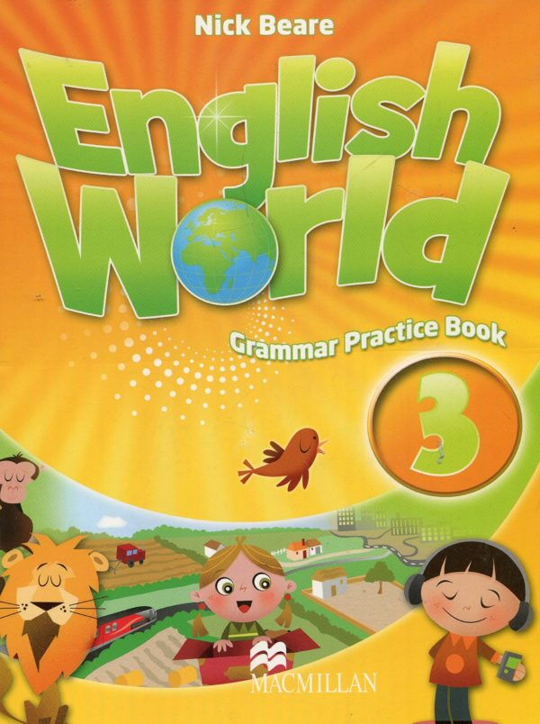 English World 3 Grammar Practice Book Cover