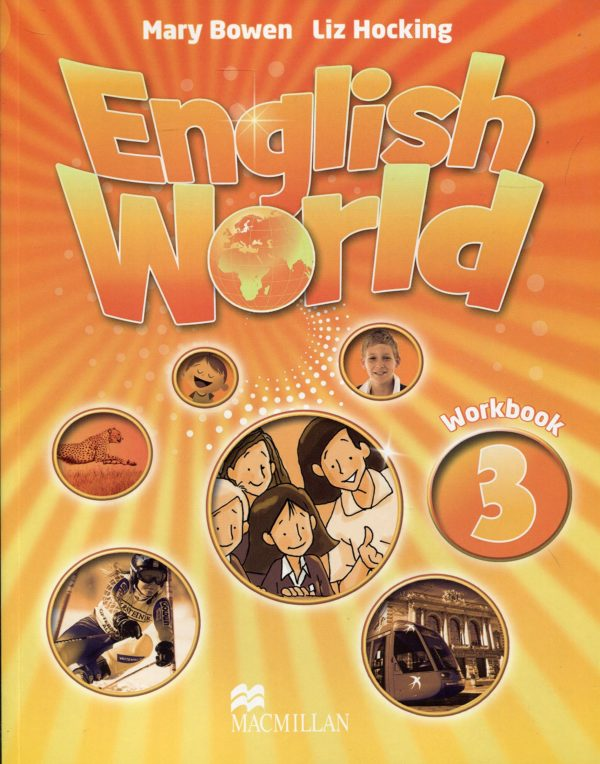 English World 3 Work Book Cover
