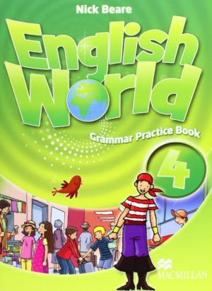 English World 4 Grammar Practice Book Cover