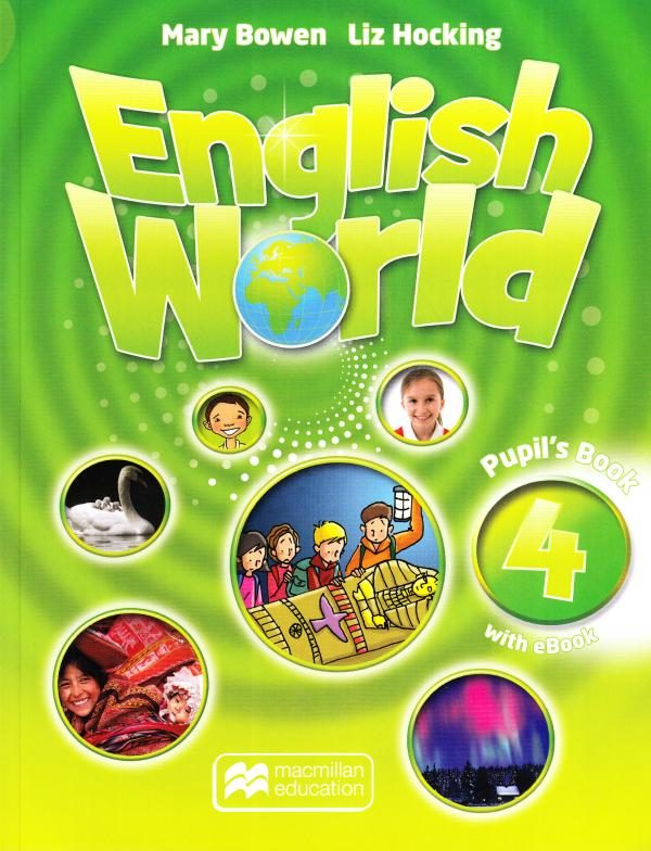 English World 4 Pupil's Book Cover