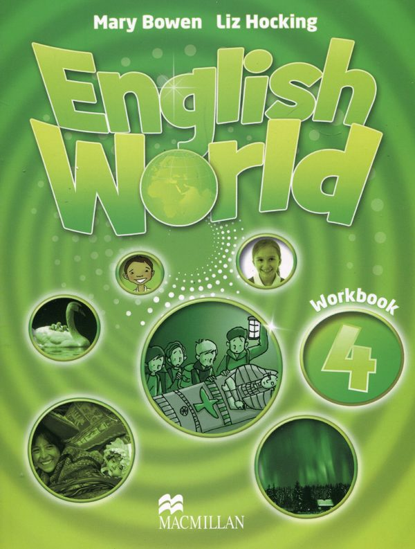 English World 4 Work Book Cover