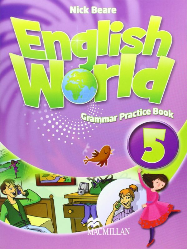 English World 5 Grammar Practice Book Cover