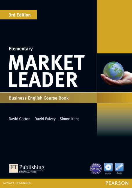 Market Leader Elementary Course Book Cover