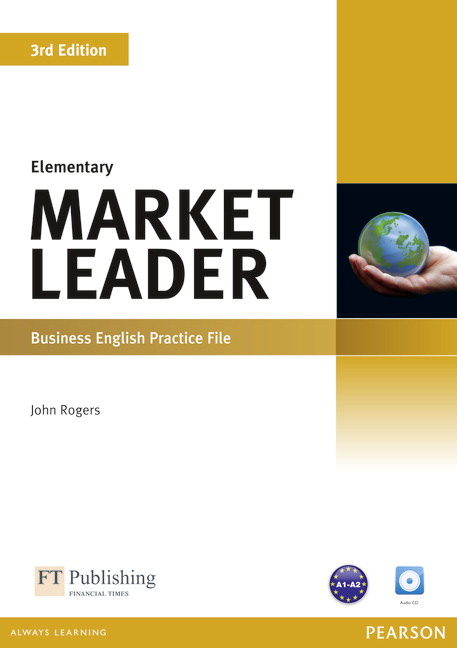 Market Leader Elementary Practice File Cover