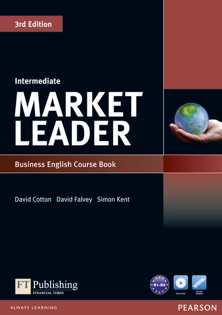 Market Leader Intermediate Course Book Cover