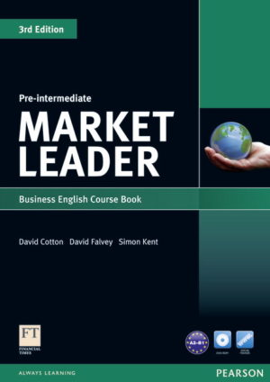Market Leader Pre-Intermediate Course Book Cover