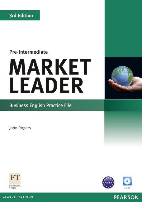 Market Leader Pre-Intermediate Practice File Cover