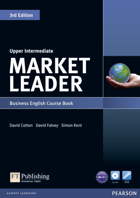 Market Leader Upper Intermediate Course Book Cover
